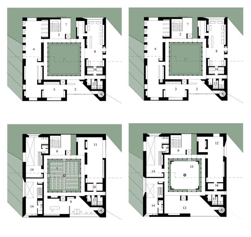 archive of the flotsam_floor plans_sophieschrattenecker
